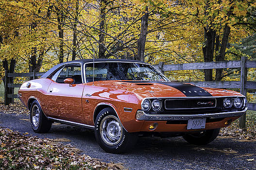 Expressive Landscapes Fine Art Photography by Thom - 1970 Dodge Challenger RT