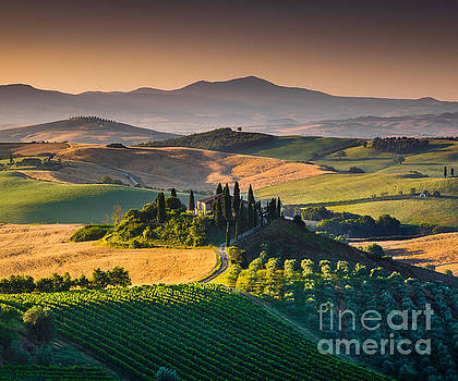 A Morning in Tuscany by JR Photography