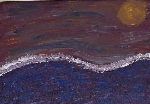 Abstract Seascape by Barb Montanye Meseroll