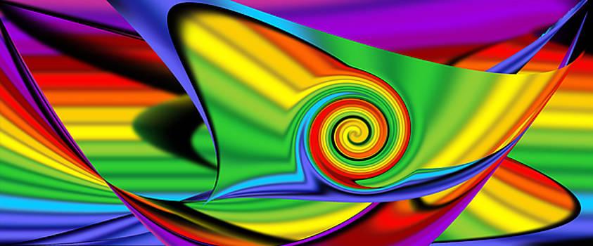 Abstract Throw  by Sir Josef - Social Critic -  Maha Art