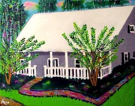 Acadian Cottage by Ted Hebbler