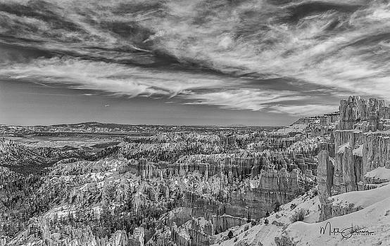 Across Bryce BW by Mitch Johanson