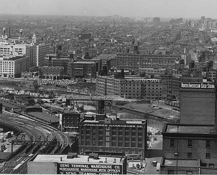 Chicago and North Western Historical Society - Aerial View of Main Line Track - 1953