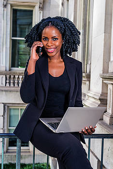 Alexander Image - Black Businesswoman working in New York