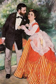 Alfred Sisley with His Wife by MotionAge Designs
