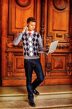 Alexander Image - American College Student Studying, Working in New York