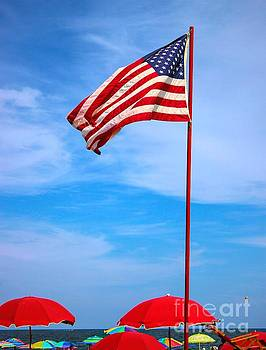 Paulette Thomas - American Flag