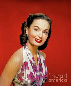 John Springfield - Ann Blyth, Vintage Movie Star