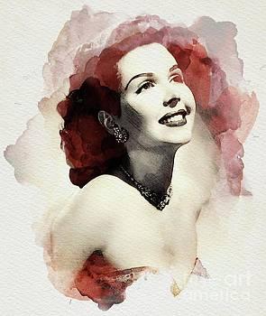 John Springfield - Ann Miller, Vintage Actress