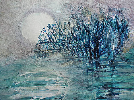 another  Moon river by Mary Sonya  Conti
