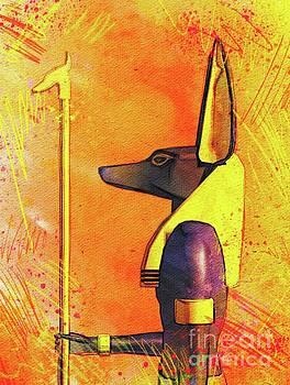 Pierre Blanchard - Anubis - Jackal God of Ancient Egypt