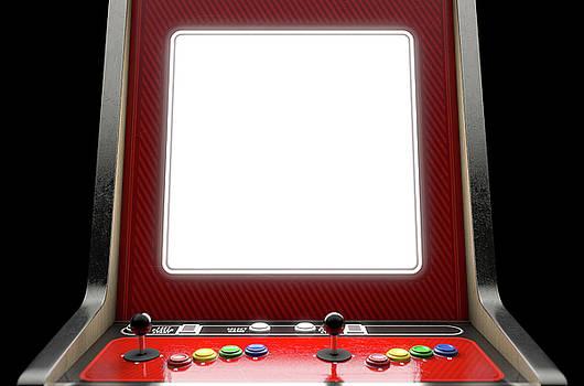 Arcade Machine Screen by Allan Swart