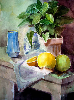 Arrowhead and Fruit by Bill Meeker