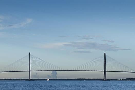 Arthur Ravenel Jr Bridge Charleston SC Cooper River by Dustin K Ryan