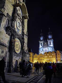 Astronomical Clock. Stare Mesto. Prague spring 2017 by Jouko Lehto