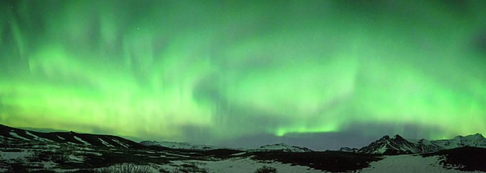 Aurora Borealis or Northern Lights. by Andy Astbury