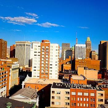 Baltimore City Maryland by Debra Lynch