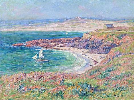 Bay at Trouville by Henri Moret