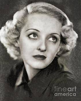 John Springfield - Bette Davis, Vintage Actress by JS