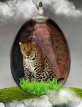 Big Cat Leopard Art by Marvin Blaine