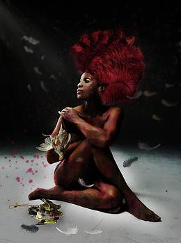 Bird Woman by Terry Fleckney