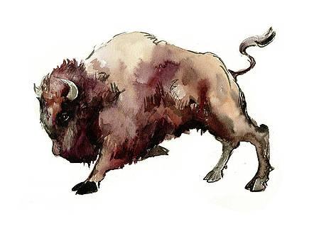 Bison by Suren Nersisyan