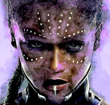 Black Panther Shuri by Marvin Blaine