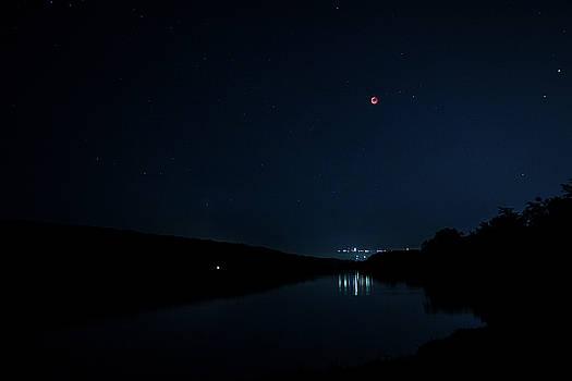 Bloody moon by Cristian Mihaila