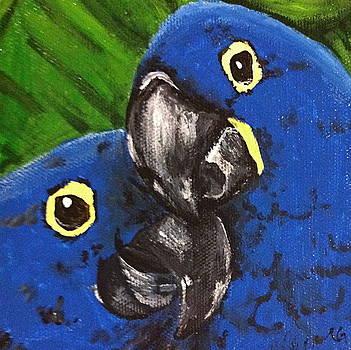 2 Blue by Norma Gafford