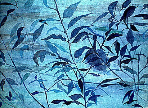 Blue on Blue by Vivian  Mosley