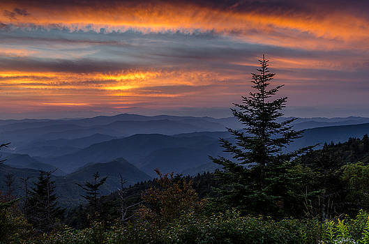 Blue Ridge Parkway Sunset by Eric Albright