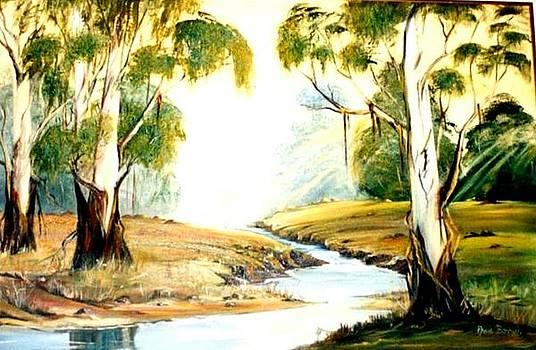 Bluegum Trees by Ansie Boshoff