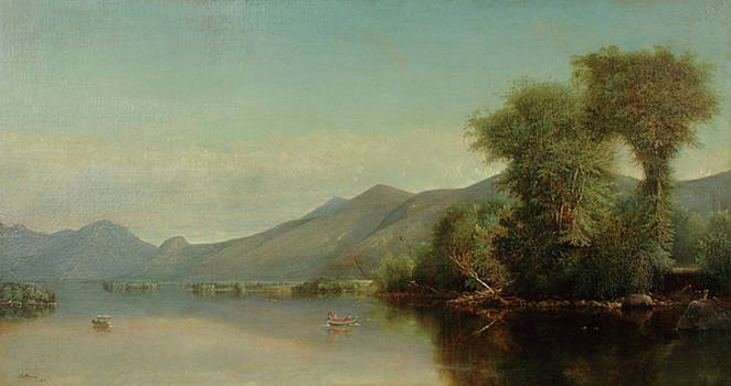 Boating on Lake George by Nelson Augustus