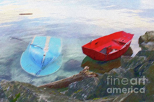 2 Boats  by Mark Alan Perry