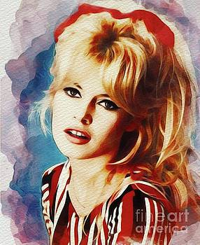 John Springfield - Brigitte Bardot, Vintage Movie Star