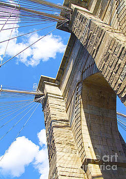 Brooklyn Bridge in New York City by ELITE IMAGE photography By Chad McDermott