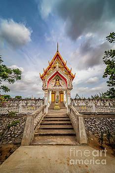 Adrian Evans - Buddhist Temple