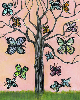Butterflies Are Free by Blenda Studio