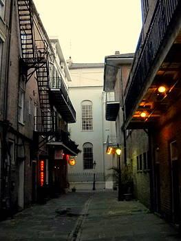 Cabildo Alley by Ted Hebbler