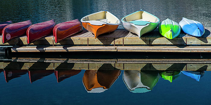 Canoes and Kayaks by Gary Lengyel