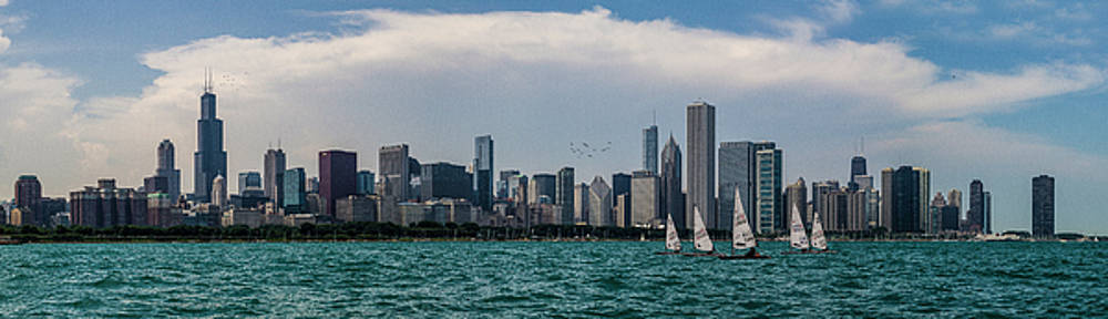 Chicago Skyline by Joel Witmeyer