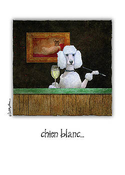 Will Bullas - chien blanc...