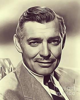 John Springfield - Clark Gable, Vintage Actor