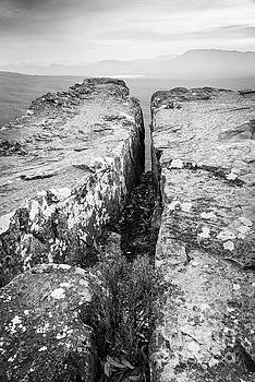 Tim Hester - Cliff Top Black And White