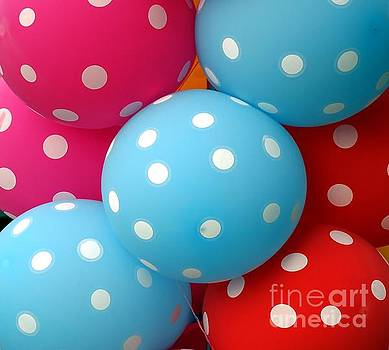 Colorful Balloons Make a Happy Mood by Yali Shi