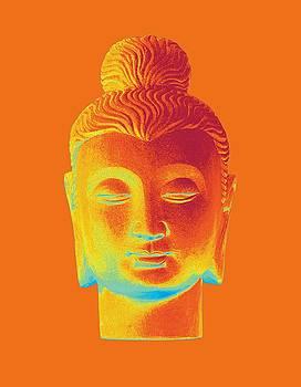 colorful Buddha - Gandhara by Terrell Kaucher