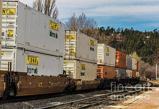 Container Train by Thomas Marchessault