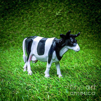 Cow figurine by Bernard Jaubert