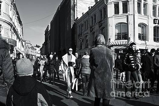 Crowded street by Magomed Magomedagaev