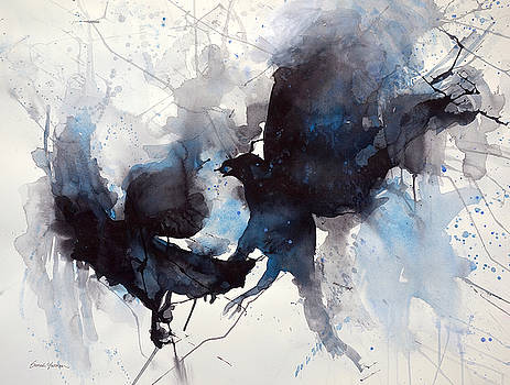Tangled up in blue by Sarah Yeoman